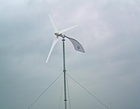 水平軸600W風力(li)發電機(ji)