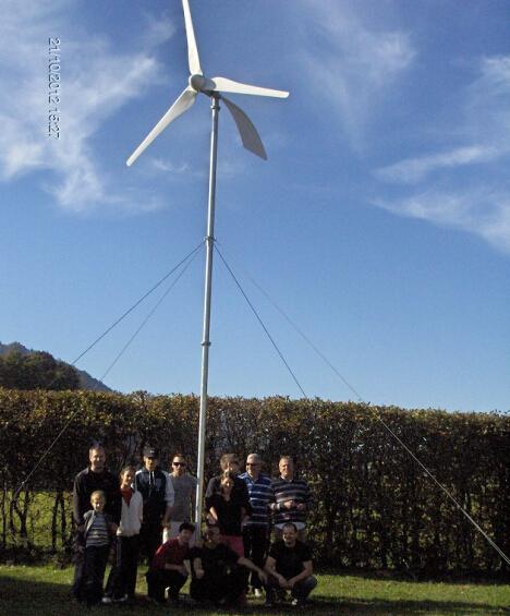 水平軸1000W風力(li)發電機(ji)