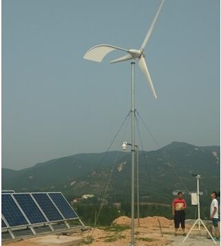 水平軸2000W風力(li)發電機(ji)