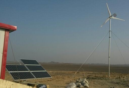 水平軸3000W風力(li)發電機(ji)