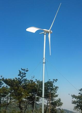 水平軸5000W風力(li)發電機(ji)