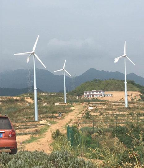 水平軸10KW風力(li)發電機(ji)